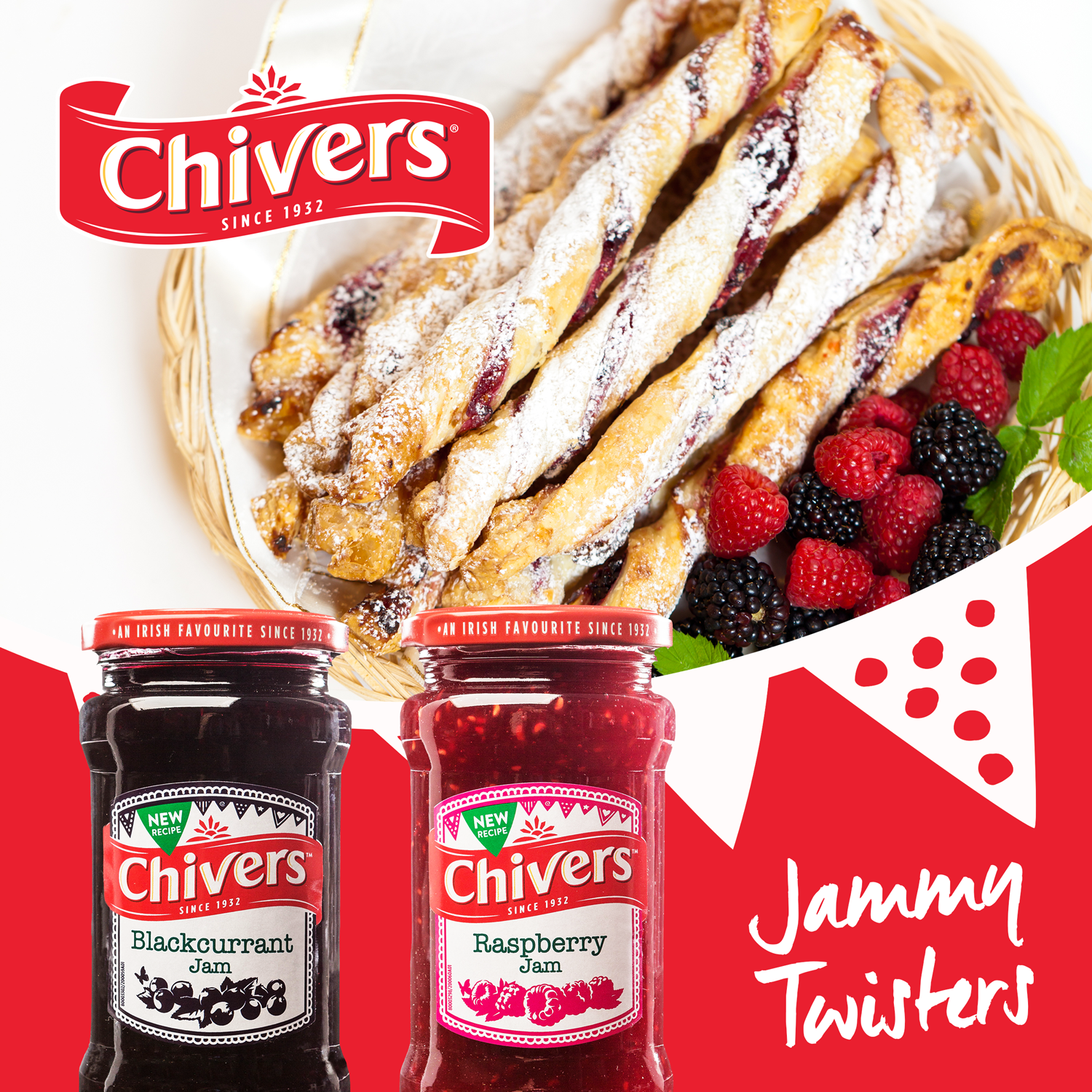 Chivers Jammy Twisters